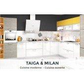 TAÏGA & MILAN, une cuisine ouverte & colorée