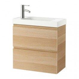 Meuble Lavabo deux tiroirs